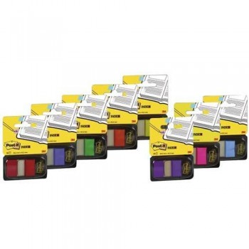 INDEX POST-IT MEDIANO AZUL BRILLANTE DISPENSADOR 50 UNIDADES 680
