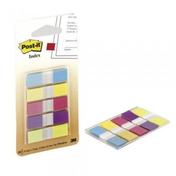DISPENSADOR INDEX POST-IT INDEX 1/2 PULGADA BOLSILLO CON 100 UNIDADES