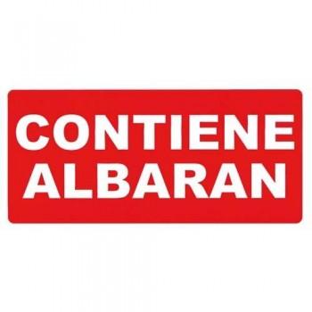 ETIQUETAS ADHESIVAS ROLLO 50 X 100 MM. CONTIENE ALBARÁN APLI