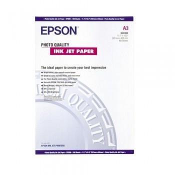 PAPEL FOTO A3 105 GR. 100 HOJAS PHOTO QUALITY INKJET PAPER EPSON S041068