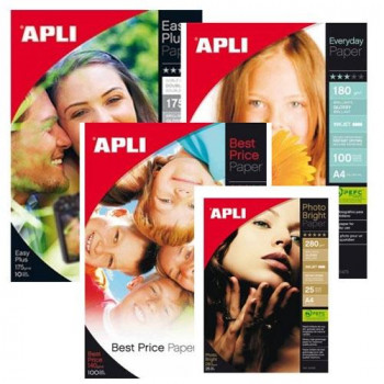 Papel doble cara Glossy + Mate A4 175 gr. cantidad 10h