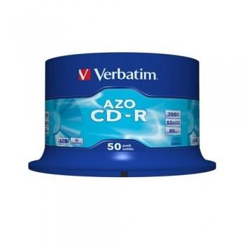CD-R 700MB 52X SUPER AZO 50 UNIDADES VERBATIM