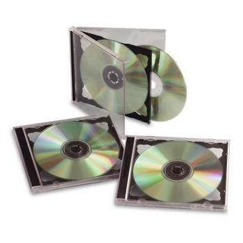 CAJA 2 CD PAQUETE 5 UNIDADES FELLOWES