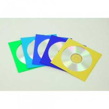 SOBRES PARA CD PAPEL (50u.) COLORES SURTIDOS FELLOWES R.9068901