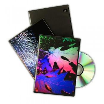 Estuche para DVD Slim  pack  10 cajas Fellowes