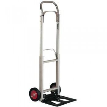 Carretilla de aluminio plegable peso máximo 90kg medidas 110x41x39cm