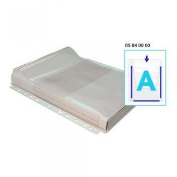 FUNDA MULTITALADRO A4 PVC FUELLE 180 MICRAS EN A SOLAPA BOLSA 5 UNID. GRAFOPLAS