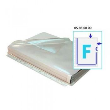 FUNDA MULTITALADRO A4 PVC FUELLE 180 MICRAS EN F SOLAPA BOLSA 5 UNID. GRAFOPLAS