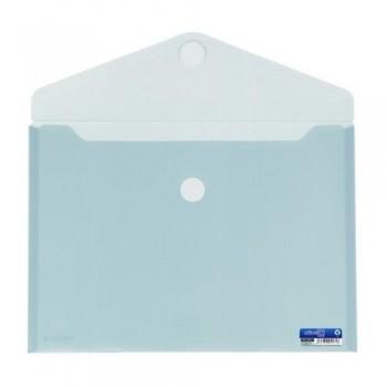 SOBRE A4+ PP CIERRE DE VELCRO 335 X250 MM CRISTAL OFFICE BOX