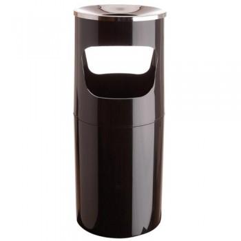 Cenicero de pié Colores opacos 260x643 negro
