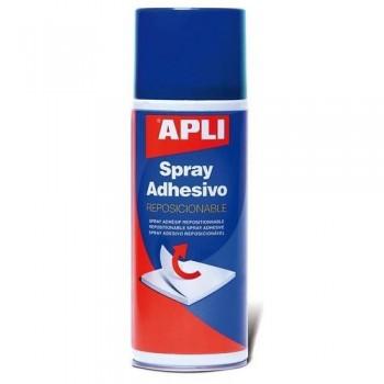 Spray adhesivo reposicionable 400 ml.