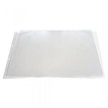 FUNDA MULTITALADRO A3 APAISADO PVC CON REBAJE SUPERIOR 150 MICRAS4 TALADROS GRAFOPLAS