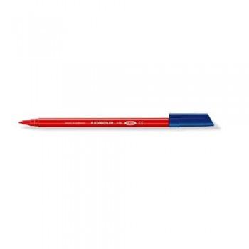 Rotulador punta estándar 1,0 mm. rojo punta  Noris Club 326