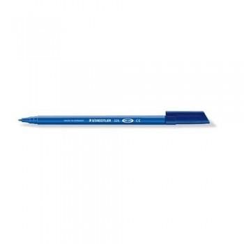 Rotulador punta estándar 1,0 mm. azul punta  Noris Club 326
