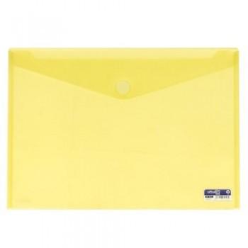 SOBRE A3 PP CIERRE DE VELCRO 435X310 MM AMARILLO. OFFICE BOX