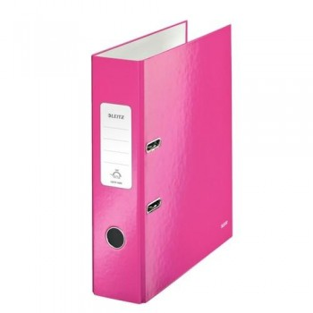 ARCHIVADOR A4 80MM. FUCSIA METALIZADO LEITZ WOW