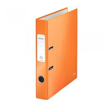 ARCHIVADOR A4 50MM NARANJA METALIZADO WOW LEITZ