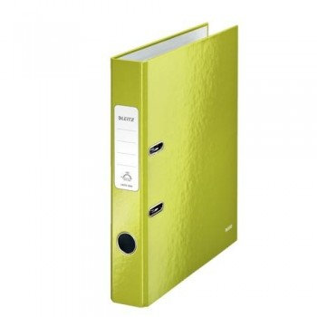 ARCHIVADOR A4 50MM VERDE METALIZADO WOW LEITZ