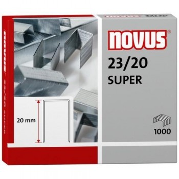 GRAPAS NOVUS 23/20 S DE 1000 (ENDURECIDA)