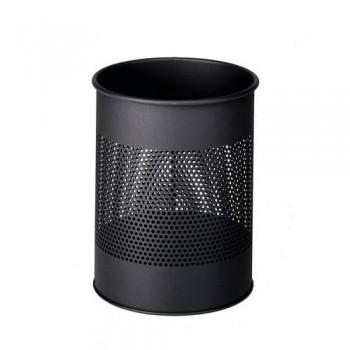 Papelera metálica redonda  15/P 165 - 15 litros - perforada Durable antracita