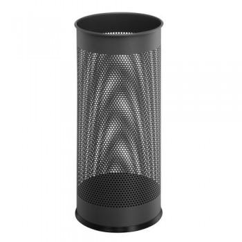 Paragüero redondo metálico  28,5 litros - perforado antracita Durable
