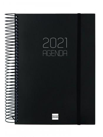 AGENDA D/P E40 OPAQUE NEGRO R. 742926021
