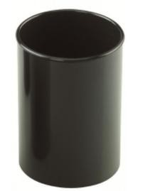 Cubilete  plástico  opaco negro  78mm 10cm alto Faibo