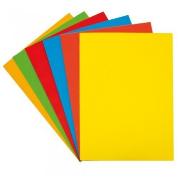 PAPEL COLOR A4 80 GR. 500 HOJAS INTENSO ORO FIXO