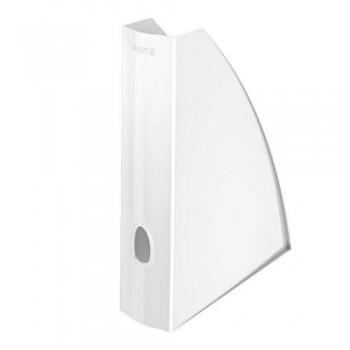 Revistero A4 Leitz WoW formato vertical lomo 60 blanco perla