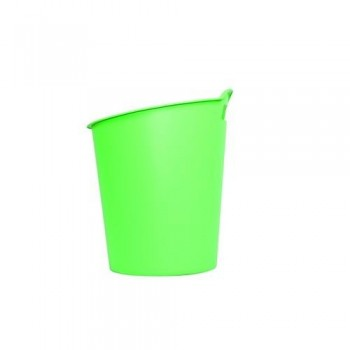 PAPELERA PLÁSTICO 15 LITROS GREEN2DESK VERDE FELLOWES