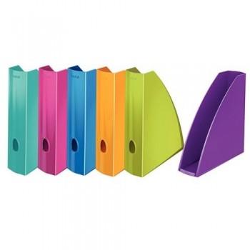 Revistero A4 Leitz WoW formato vertical lomo 60 colores surtidos