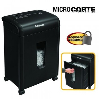 DESTRUCTORA MICROCORTE 3X10MM 62MC FELLOWES