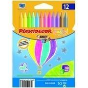 PINTURAS PLASTIDECOR PASTEL (12 U) R. 933961