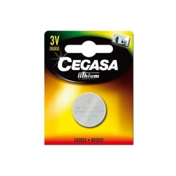 Pila Cegasa Litio Boton CR2032 3V Bt Blister