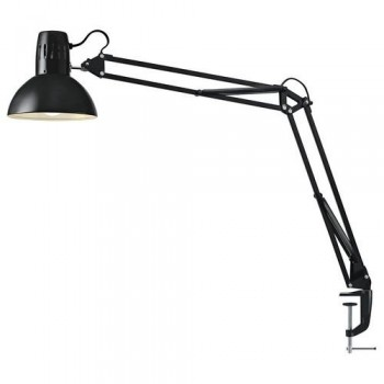 Lámpara sobremesa LED 5W Manhattan negra Archivo 2000