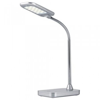 Lámpara sobremesa LED 5W Flex plata Archivo 2000