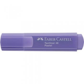 Rotulador fluorescente pastel lila Textliner 1546 Faber Castell