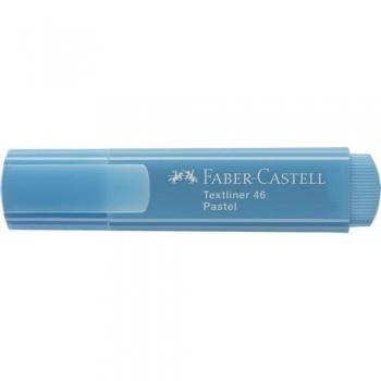 Rotulador fluorescente pastel azul pálido Textliner 1546 Faber Castell