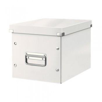 Caja Click & Store cúbica Mediana (265x265x250 mm) blanco Leitz