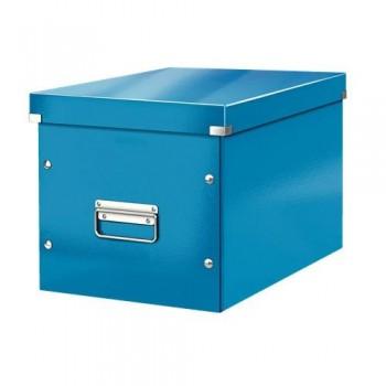 Caja Click & Store cúbica Grande (320x360x310 mm) azul