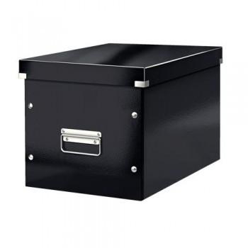 Caja Click & Store cúbica Grande (320x360x310 mm) negro