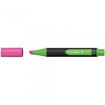 Rotulador fluorescente rosa Link-It Schneider