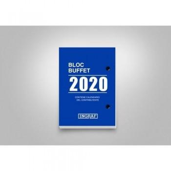 Taco calendario sobremesa BLOC BUFFET BASIC Castellano Ingraf