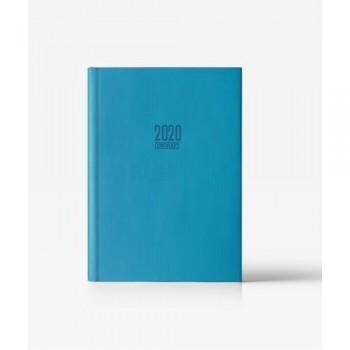 Agenda D/P 17x24 SEUL azul castellano Ingraf