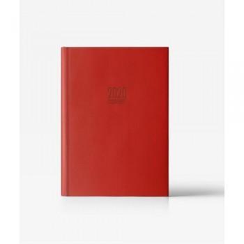Agenda S/V 17x24 SEUL rojo castellano Ingraf