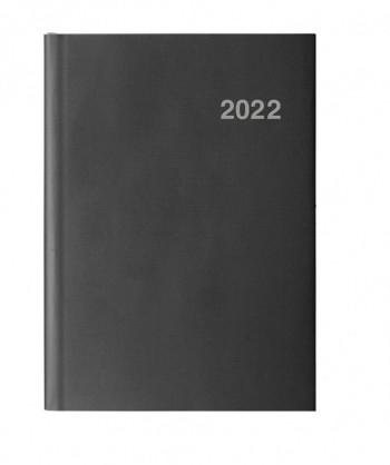 Agenda D/P 15X21 PARIS negro castellano Ingraf