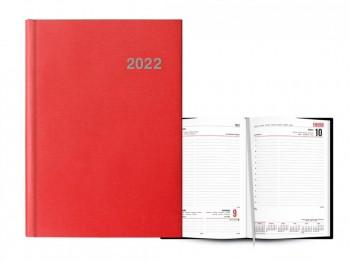 Agenda D/P 15X21 PARIS rojo castellano Ingraf