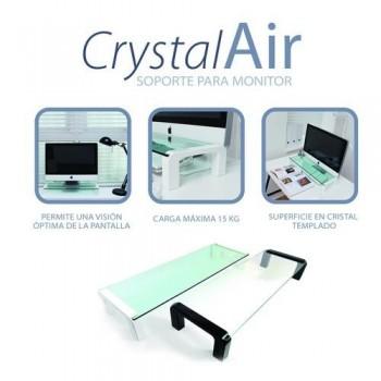 Soporte monitor blanco CrystalAir Office Box