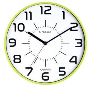 Reloj pared 28cm diámetro POP VERDE ANIS