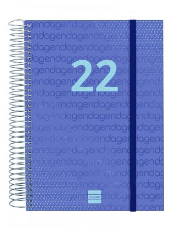 AGENDA ESPIRAL D/P E10 YEAR AZUL FINOCAM R.741101021